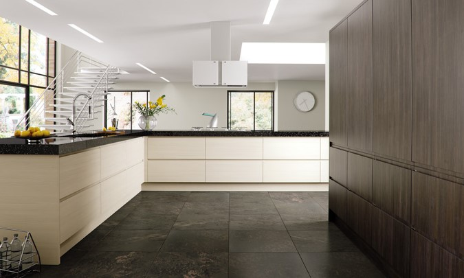 Bella Knebworth Kitchen Doors Handless Doors
