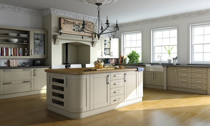 Bella Shaker Kitchen Doors Swiss Pear