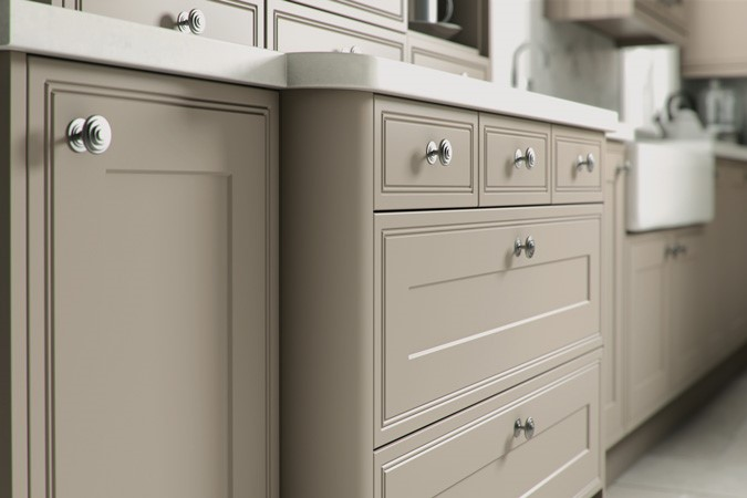 Bella Tullymore Kitchen Doors Bella Vinyl & Grey Cabinet Doors - Nagpurentrepreneurs
